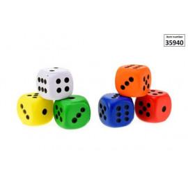 Kostka Piankowa 4cm 1 z 6 kolorów