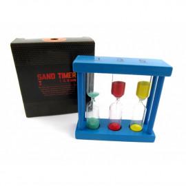 TIMER SAND 1.3.5min 3ass 9cm
