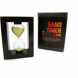 Klepsydra piaskowa, 3 minuty, 10cm