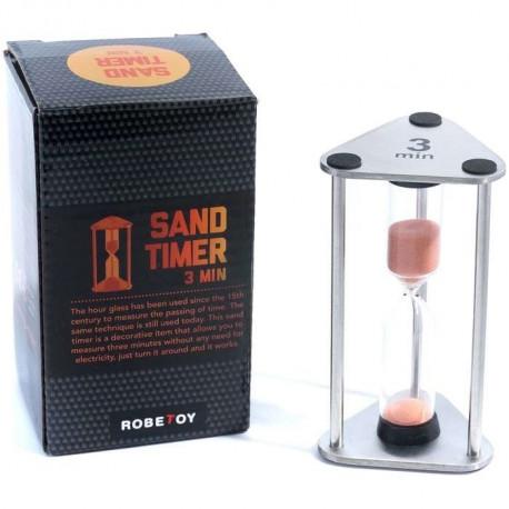 TIMER SAND METAL 3min 9cm