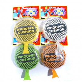 WHOOPEE CUSHION WITH AIR 4ass 16cm