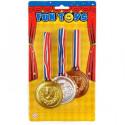 Złoto, Srebro, Brąz – 3 medale, 6cm