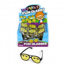 Okulary EMO z oczkami 1z6 wzorów 15cm