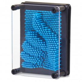 Mały Plastikowy Pin Art Niebieski