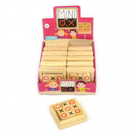 TIC TAC TOE WOODEN GAME 8cm