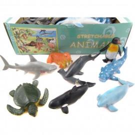Morskie zwierzęta 1z12 wzorów 11.5cm