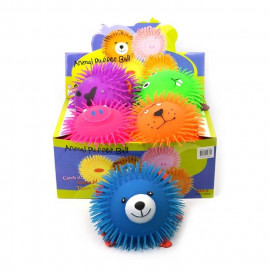 PUFFER BALL ANIMALS 6ass 23cm