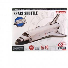 4D PUZZLE SPACE SHUTTLE 1:200
