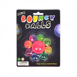 BOUNCING BALL 1+8pcs 45-27mm