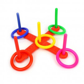 RING TOSS GAME GAME 5 RINGS 40cm