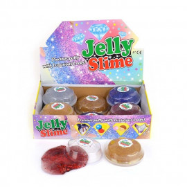 PUTTY JELLY GLITTER 4ass 9cm