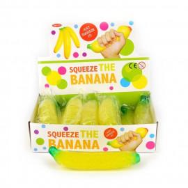 Banan gniotek z kuleczkami, 18cm