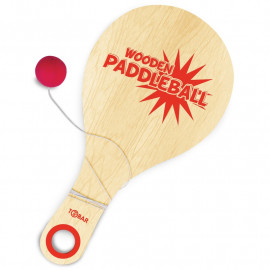 WOODEN PADDLEBALL