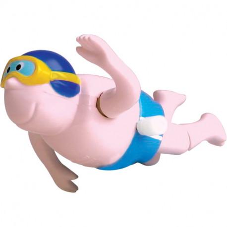 Wesoły nakręcany pływak
