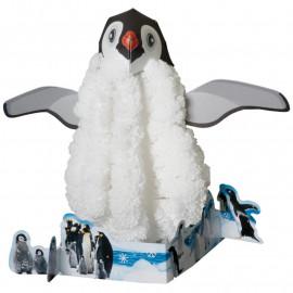 Magicznie Rosnące Kryształy - Pingwinek