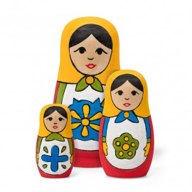 PAINT YOUR OWN RUSSIAN DOLLS