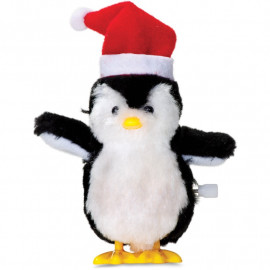 CLOCKWORK CHRISTMAS PENGUIN