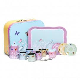 Zabawkowy serwis do herbaty - Motylki