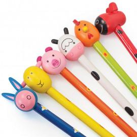 Ołówek ze zwierzakiem