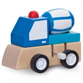 WIND-UP WOODEN TRUCKS