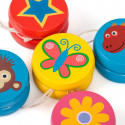 Miniaturowe yoyo z drewna