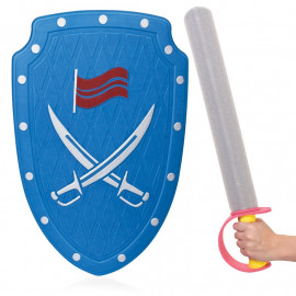 SOFT FOAM SWORD AND SHIELD