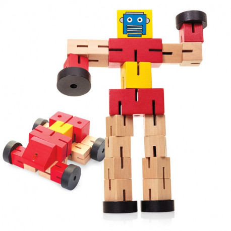 Drewniany Samochodorobot