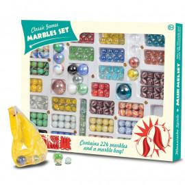 Szklane kulki - Marble Set