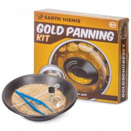 Zestaw małego poszukiwacza złota - GOLD PANNING KIT