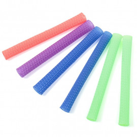 MULTI COLOURED ELASTICS - PK6