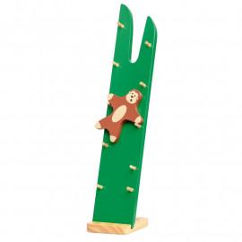 Zwinna drewniana małpka - Monkey Tumbler