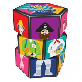 Obkręcane Puzzle - postaci