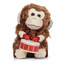 DRUMMING MONKEY