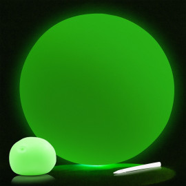 Fluorescencyjna piłka balonowa GLOW IN THE DARK BALLOON BALL