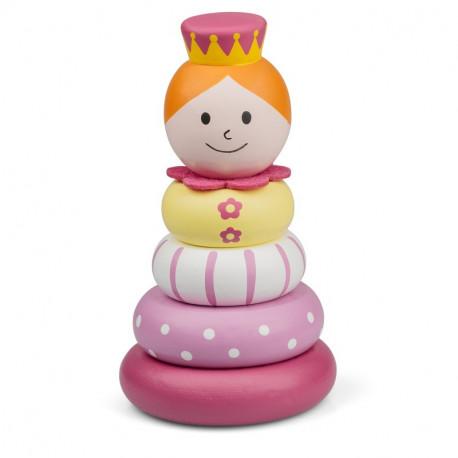 Składana księżniczka z drewna PRINCESS STACKER