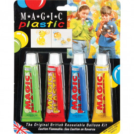 MAGIC PLASTIC 4 COLOURS PACK
