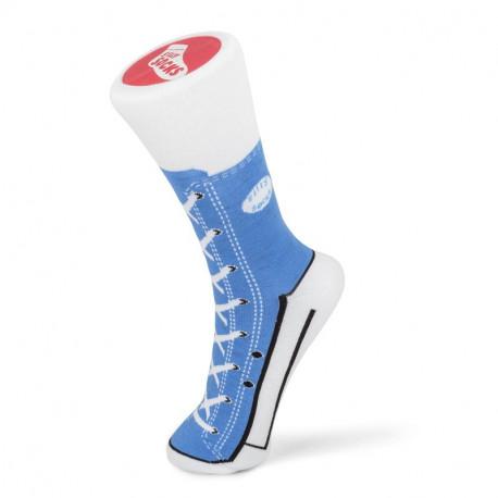 Niebieskie skarpetki Trampki Sneaker – rozmiar 37-45