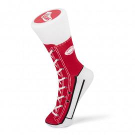 SNEAKER SOCKS RED SIZE 5-11