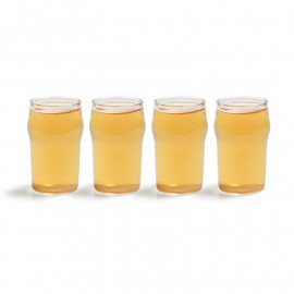 SHOT GLASS - MINI PINT SET OF 4