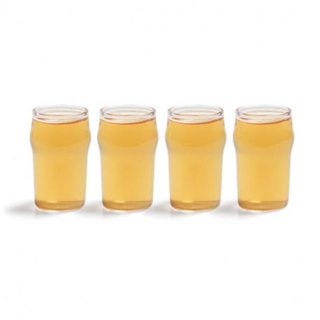 SHOT GLASS - MINI PINT SET OF 4