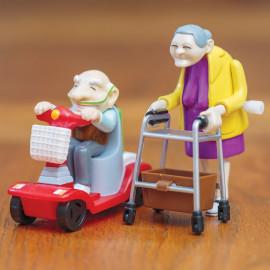 Wyścigowi Dziadkowie - Para