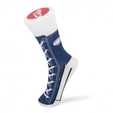 SNEAKER SOCKS NAVY BLUE SIZE 5-11