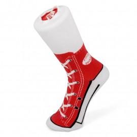 SNEAKER SOCKS RED SIZE 1-4 S/O