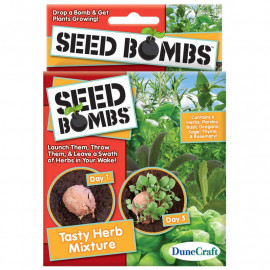 TASTY HERB SEED BOMBS