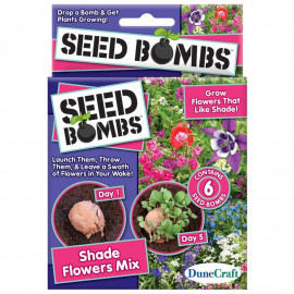 SHADE FLOWERS SEED BOMBS