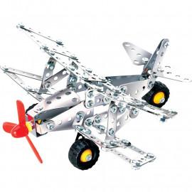 Metalowy zestaw do skręcania - Samolot - Workshop Aeroplane