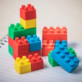 BUILDING BLOCK ERASERS