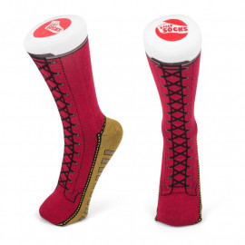 BOOT SOCKS - RED SIZE 5-11