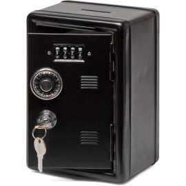 METAL LOCKER BANK BLACK