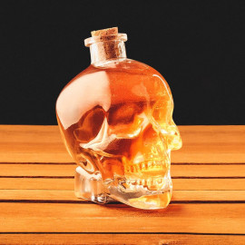 SKULL DRINKS DECANTER